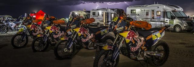 Adria Mobil testet Sonic und Matrix bei der Rallye Dakar