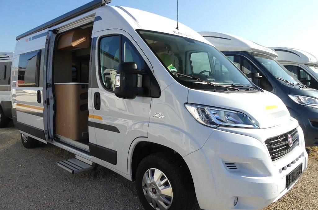 SUN LIVING FLEXO SP inkl. SAT-TV-RÜCKFAHRKAMERA – TOP Gebrauchtfahrzeug