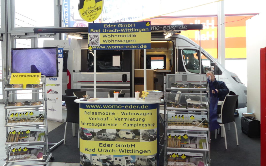 CMT 2017 – Messe in Stuttgart | Es geht los!