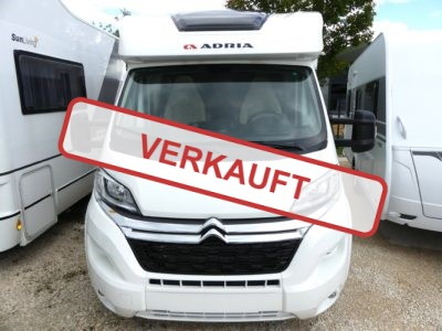 Adria Matrix Axess 590 ST Mod. 2018 – Citroen Jumper Basis