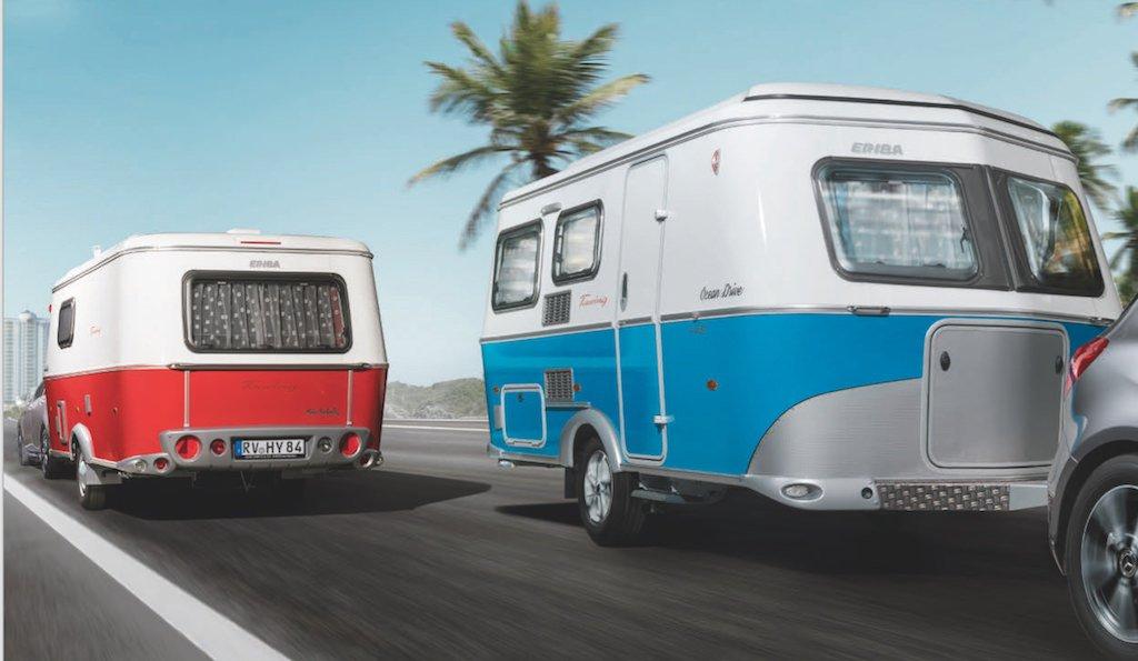 ERIBA Sondermodelle Troll 530 Rockabilly und Ocean Drive