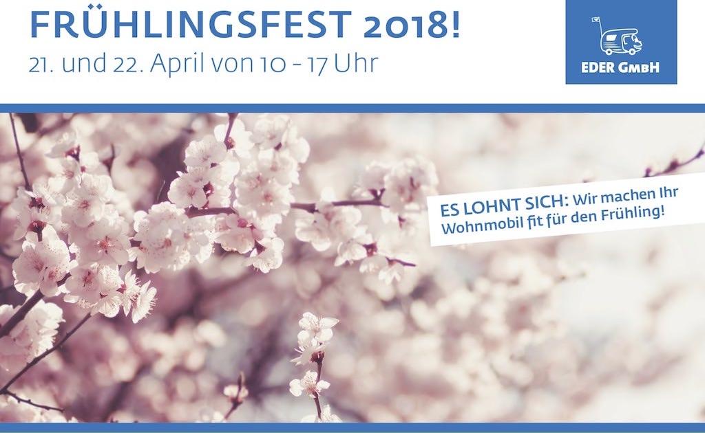 Frühlingsfest 2018 – am 21. und 22. April von 10 – 17 Uhr
