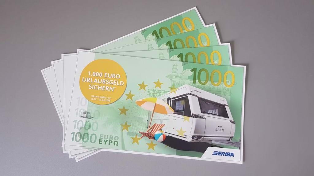 Hymer ERIBA Caravan Sommeraktion 2018!