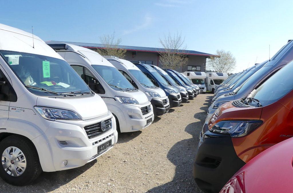 Abverkauf unserer Womo-Eder Mietmobil Flotte 2018 !