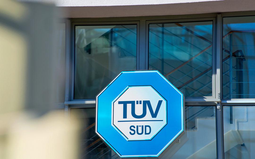 TÜV Süd Zertifizierung